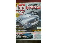 AUTO EXPRESS MAGAZINE # FORD MONDEO # FEB 2007 # LOADS MORE MAGS AVAILABLE # BRAND NEW CONDITION