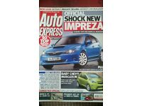 AUTO EXPRESS MAGAZINE # SUBARU IMPREZA # APR 2007 # LOADS MORE MAGS AVAILABLE # BRAND NEW CONDITION