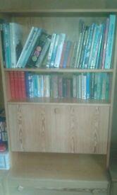 Pine bookcase, good condition