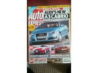 AUTO EXPRESS MAGAZINE # AUDI A3 # DEC 2007 # LOADS MORE MAGS AVAILABLE # BRAND NEW CONDITION