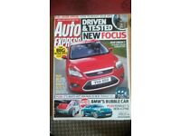 AUTO EXPRESS MAGAZINE # FORD FOCUS # NOV 2007 # LOADS MORE MAGS AVAILABLE # BRAND NEW CONDITION
