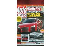 AUTO EXPRESS MAGAZINE # AUDI V12 # APR 2008 # LOADS MORE MAGS AVAILABLE # BRAND NEW CONDITION