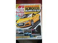 AUTO EXPRESS MAGAZINE # VW SCIROCCO # SEP 2007 # LOADS MORE MAGS AVAILABLE # BRAND NEW CONDITION