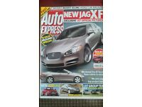 AUTO EXPRESS MAGAZINE # JAG XF # SEP 2007 # LOADS MORE MAGS AVAILABLE # BRAND NEW CONDITION #