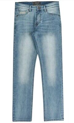 New Mens Mish Mash 1984 Soto Tapered Jeans W32 L32 £19.99or Best Offer RRP