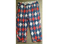 Royal and Awesome Golf Trousers 36/32