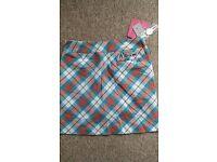 Womens Golf Royal & Awesome skort skirt size 10