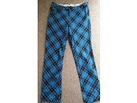 royal awesome golf trousers 34/34