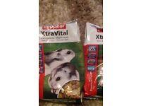 hamster food brand new £2