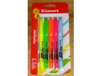 LUXOR 5 PACK PENS, NOW REDUCED!!