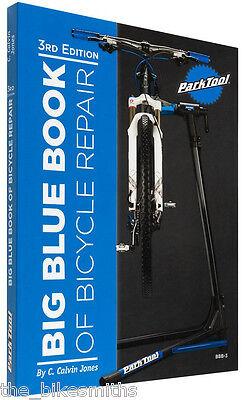 Park Tool BBB-3 Big Blue Book Bike Repair Manual 3rd Edition Bicycle Guide