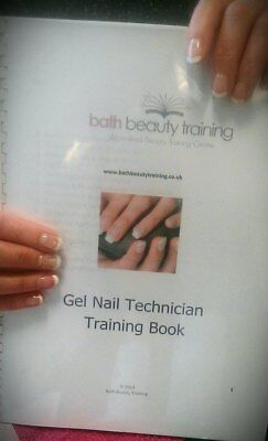 Pre Accredited Beauty Training Course Workbook Gel Nail Technician