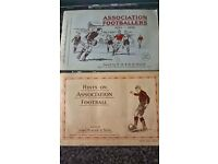 Pre war,football trade cards,2 x full sets.2x 50 cards