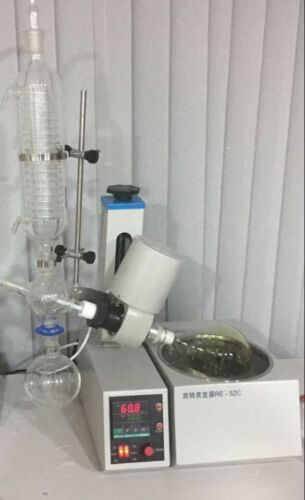 2L Lab Crystalliser Equipment Rotary Evaporator with Rotary flask and Condenser