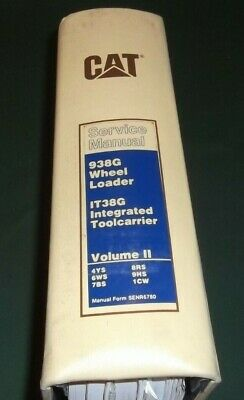 Cat Caterpillar 938g Wheel Loader It38g Toolcarrier Shop Repair Service Manual 2