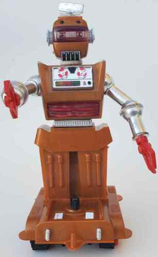 Vintage RARE Untested 1968 Robot Zobor Ideal Toy Hong Kong Zeroids FREE US SHIP
