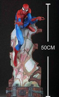 """Marvel THE AMAZING SPIDER-MAN 2 Last Stand 18""""  Large Statue Figure Figurine NIB"""