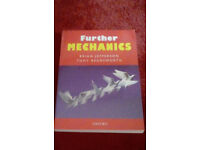 Further Pure mathematics/Further Mechanics Textbooks