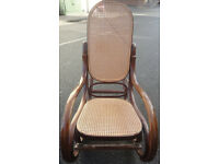 GOOD CONDITION, A NICE WOODEN ROCKING CHAIR