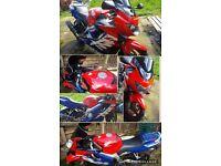 Honda cbr 600cc motorbike (2000)