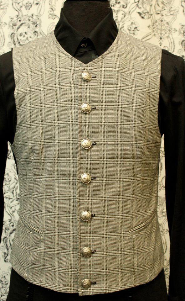 SHRINE CORSICA GOTHIC ARISTOCRAT VAMPIRE VEST JACKET VICTORIAN FORMAL STEAMPUNK Clothing, Shoes & Accessories