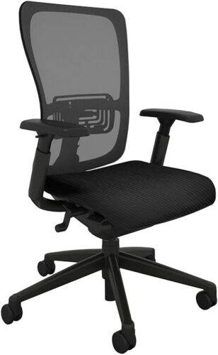 Zody Office Chair by Haworth - Fully Adjustable - Made in USA (Renewed)
