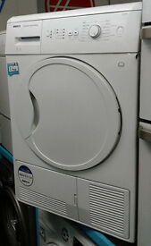 e360 white beko 8kg B rated condenser dryer comes with warranty can be delivered or collected