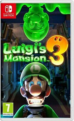 LUIGI'S MANSION 3 NINTENDO SWITCH GIOCO NUOVO SIGILLATO PAL ITALIANO ORIGINALE
