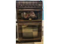 a435 brown cannon 50cm gas cooker comes with warranty can be delivered or collected