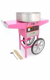Candy Floss & Popcorn Machine Hire From £50 For A Days Hire. Call Today on 07903 639800