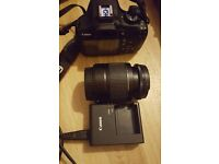 Canon 1200d dslr camera and 18-55mm lens