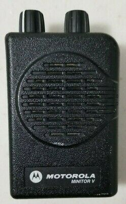 Motorola Minitor V 5 Pager Non-stored Voice
