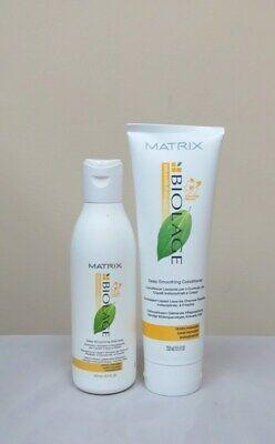 Matrix Biolage Deep Smoothing Shampoo & Conditioner 8.5 oz Duo Biolage Deep Conditioner