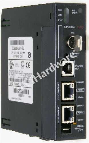 GE Fanuc IC693CPU374-GV 90-30 Series CPU Controller with Ethernet Interface