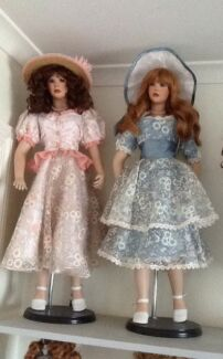 Collectible porcelain dolls Dingley Village Kingston Area Preview