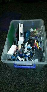 Lego sets and a tub of spare parts/unbuilt sets