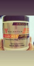Original New SlimROAST Optimum Cocoa - Weight Management Cocoa - 1 month supply