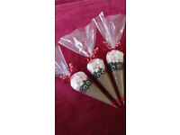 Christmas Reindeer Hot Chocolate Cones and Reindeer Food