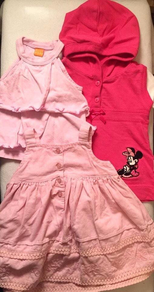 set of clothes 6-9 for baby girl London Bounds Green