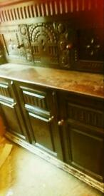 Cupboard antique