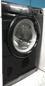 a401 black hoover 7kg 1200 spin washing machine comes with warranty can be delivered or collected