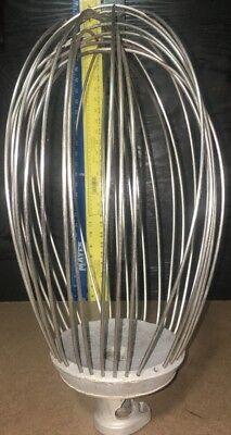 Hobart Univex Commercial Restaurant Mixer 60 Qt Whisk Mixing Attachment. 5