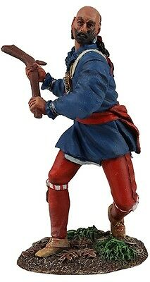 BRITAINS AMERICAN REVOLUTIONARY WAR 16025 WOODLAND INDIAN SWINGING WARCLUB MIB
