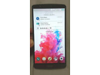 """LG G3 5.5"""" screen great condition UNLOCKED WITH BOX"""