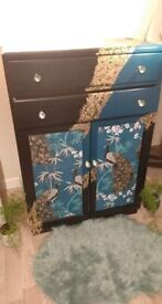 tall boy vintage painted with a modern twist BARGAIN