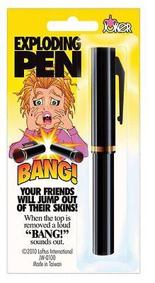 Exploding Pen Joke Prank Gag Trick Lark Funny Mischief