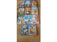 Disney and Dreamworks DVDs