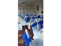 Wedding Chair Covers and Table Decorations