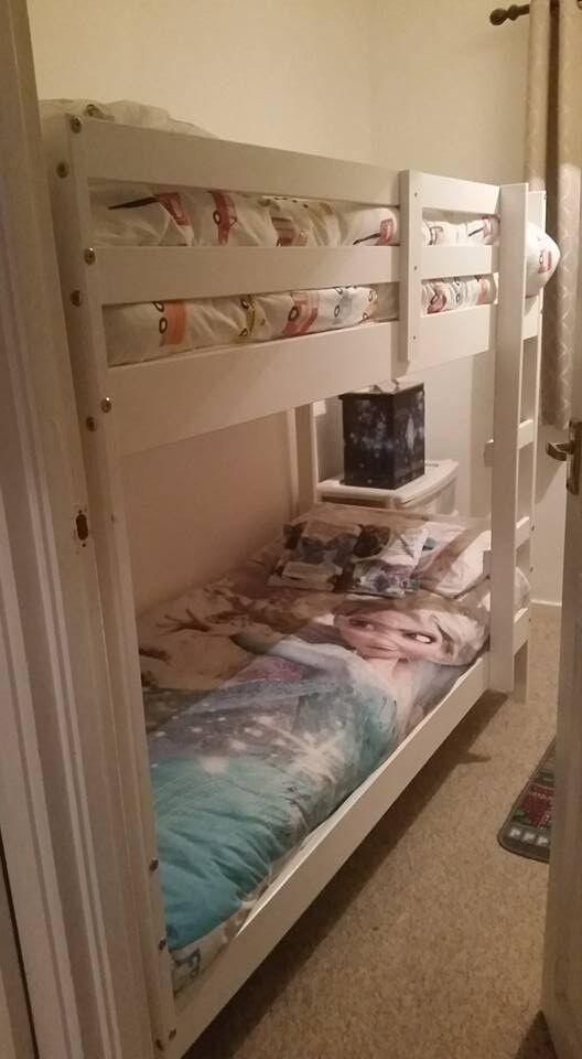 Josie Shorty Bunk Bed With 2 Elliott Mattresses In St Albans