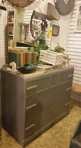 Grey Vintage Mirrored DRESSER ISLE 3-b GREY Sale $299.99 Reg $399.00
